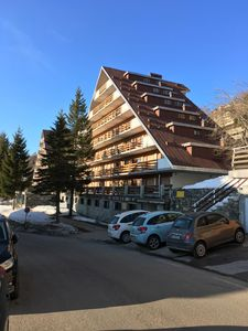 Photo for ACCOMMODATION ON TWO LEVELS WITH PRIVATE POOL ON SKI SLOPES