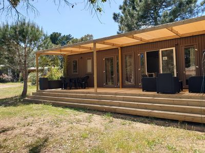 Photo for Pezza 6. Mobile-Home in large private property.