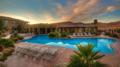 Outdoor Clubhouse Pool