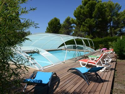 Photo for Charming place for 4 to 5 people in the calm in the Natural Park of Verdon