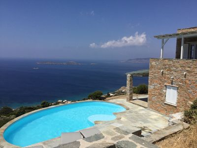 Photo for Exceptional view - Houses with swimming pool 10-12 p - Ideal 2 families