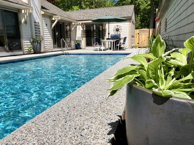 Photo for Vacation House with Private Pool in New Seabury