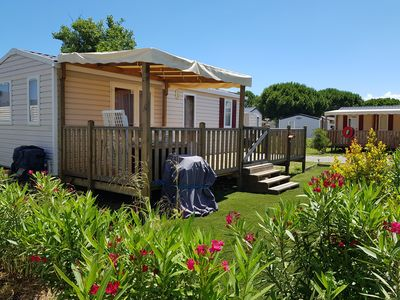 Photo for 2BR Mobile Home Vacation Rental in Canet-en-Roussillon, Occitanie