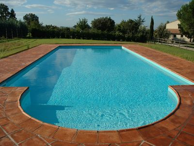 Photo for Stunning countryside villa w/private pool and huge grounds - sleeps 9+1