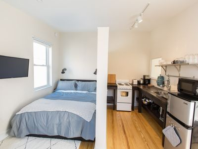 Photo for Stylish Studio w/ Full Kitchen Near Eastern Prom + Old Port
