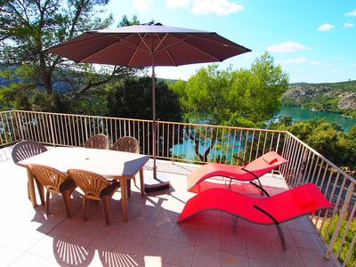 Photo for Villa rental at Lake Esparron de Verdon