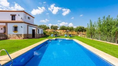 Photo for Holiday home surrounded by olive trees in Setenil de las Bodegas