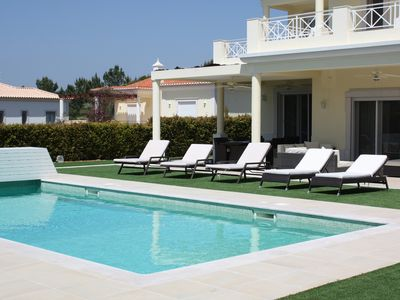 Photo for Luxury Villa With Private Heated Pool And Hot Tub, Games Room And Separate  TV R