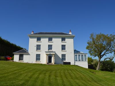 Photo for Beautiful, refurbished large Georgian Farmhouse with stunning views near Bristol