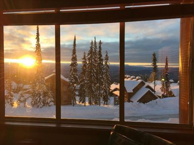 Photo for Next to Bullet Chair & Village + Beautiful Monashee Mountain View