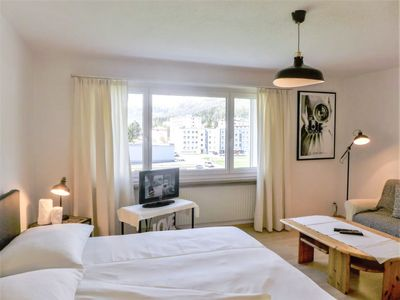 Photo for Apartment Chesa Ova Cotschna 303 in St. Moritz - 2 persons, 1 bedrooms