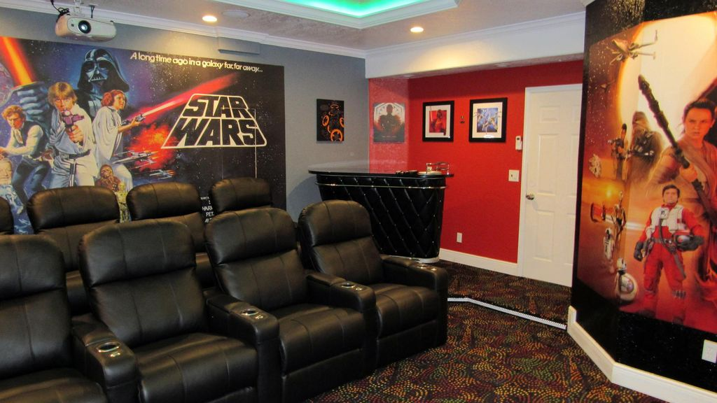 Property Image#3 Totally Renovated Everything Is New Incredible Movie  Theater Themed