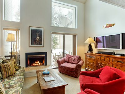 Photo for Ski-in/ski-out from dog-friendly condo w/ views, shared pool & hot tub, tennis