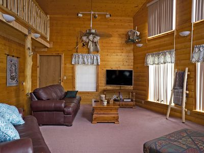 Photo for NEW! Mountain top home in South Fork