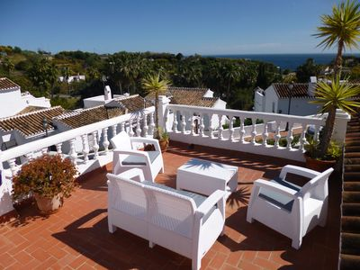 Photo for Villa 'Casa Abuela' at Oasis, large terraces, roof terrace with all day sun.