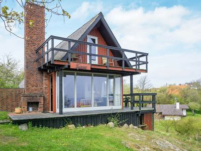 Photo for Modern Holiday Home in Allinge Bornholm with Sea view