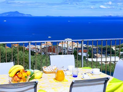 Photo for La Lobra Dèpendance is a luxurious penthouse with a terrace with breathtaking views!