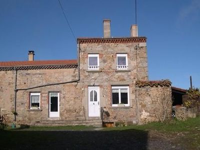 Photo for Old farmhouse in a small hamlet Livradois Forez Puy de Dôme (8 Per)