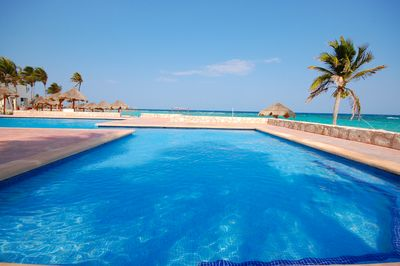 Resort pool and beach club are included for your enjoyment.