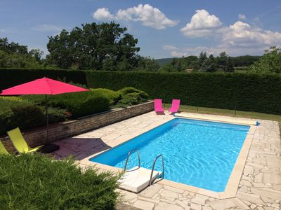 Photo for House in Forcalquier, Luberon, large plot, pool and panoramic views