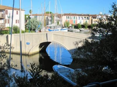 Photo for Port Grimaud: house with garden and dock up to 10 METERS