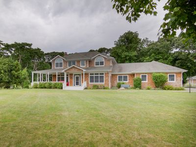 Photo for Sag Harbor Family Style Fun and Relaxation 5 bdrms, 4 baths sleeps 9
