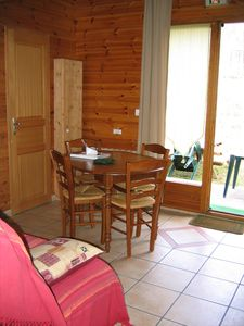 Photo for In Péone, 10 minutes between Guillaumes and Valberg. Warm Studio on the ground floor