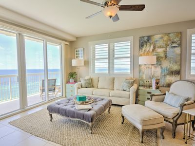 Photo for Gulf Front~Wraparound Balcony~ Beach Chair Service Included!