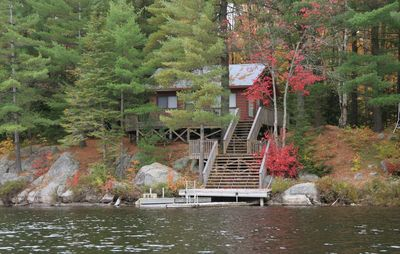 Photo for Rustic cabin in the woods - True algonquin experience
