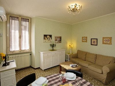 Photo for three-room apartment, historic center, 100 meters from the lake with all the comforts