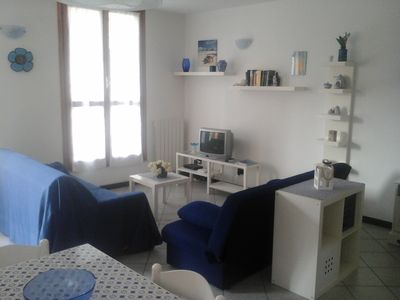 Photo for At 200 mt. from the sea ..... Bright ground floor apartment