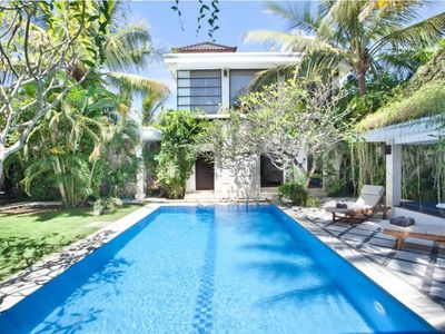 Photo for Villa 88 · 3BR PrivatePool Garden Villa Central Seminyak Bali