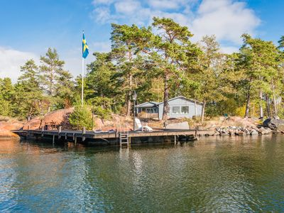 Photo for Inga Lindström dream house in the archipelago, wonderful property right on the sea