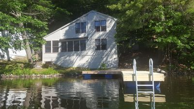 Photo for 4-Bed, 2-Bath Home Right on Penneseewassee Lake