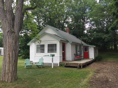 Photo for Manistee Cute Two Bedroom Cottage. 5 blocks to beach/5 blocks to town