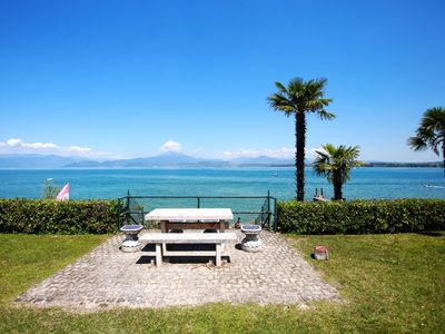 Photo for Few meters from the lake of Garda