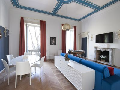 Photo for Platino - Large 3bdr apartment in the heart of Milan
