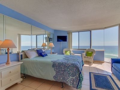 Photo for Couples Getaway! Oceanfront! Gorgeous views, pool, & easy beach access!