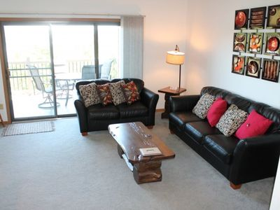 Photo for Lovely and Peaceful 2 bed 2 bath Condo - 1 mile SDC - Lake Views - Pool and Jacuzzi