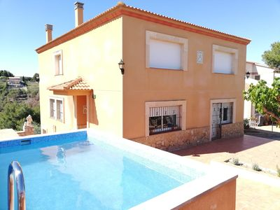 Photo for House in the mountains near the sea in the Penedès Marítim