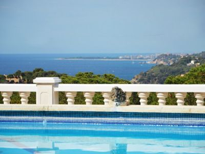 Photo for Club Villamar - Villa Arethusa for 14 persons close to Lloret de Mar with lots of privacy and a l...