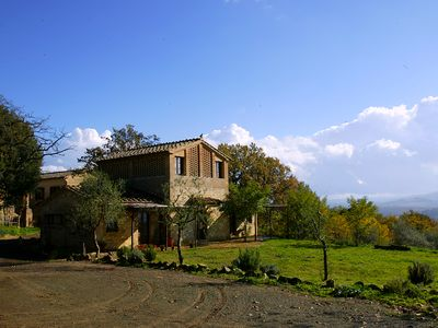 Photo for Wonderful small farmhouse for 2 or 4 in the Orcia Valley countryside