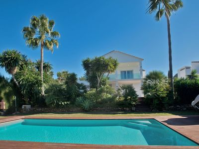 Photo for Villa 34121864 with 4 bedrooms, sleeps 10, private heated pool, short walk Puerto Banus Marbella