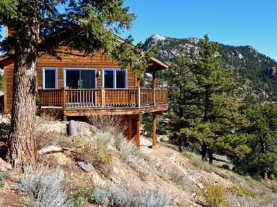 Photo for Beautiful Home With Great Views In Estes Park Near Rocky Mountain National Park