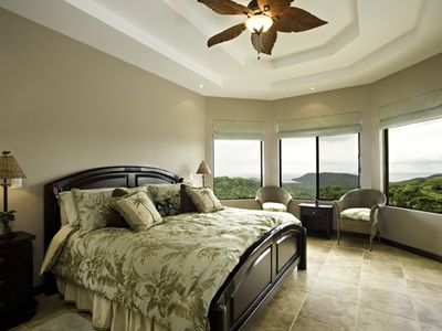 One of four master suites