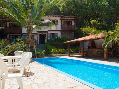 Photo for House of 3 suites and 1 bedroom in Taperapuã, in wooded land and much leisure