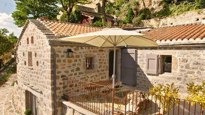 Photo for Stunning charming detached house with private heated pool