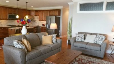 Photo for Incredible Luxury Condo 3 bed 2 bath-Relax in the Beauty! Ideal Lake Location! Pool and Jacuzzi.