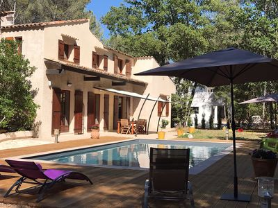 Photo for Superb Villa in wood classified Aix en Provence 300 M2