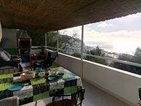 A wonderful 'home from home' with a spacious and comfortable terrace to dine, relax & enjoy the view